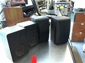 Pair of Radio Shack Realistic Minimus-77 Vintage Speakers 40-2054